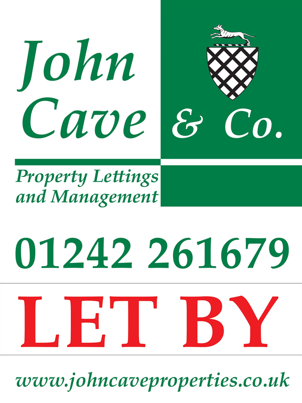 John Cave Let By sign